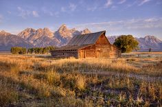 It is perhaps one of Jackson Hole's most photographed scenes: A weathered barn in a green meadow rises up against the Tetons.