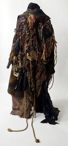 Decoration in Stage Costume - Victoria and Albert Museum from the opera Greek by Mark Anthony Turnage Theatre Costumes, Movie Costumes, Michael Moorcock, Corset Costumes, Rei Kawakubo, National Theatre, Textiles, Victoria And Albert Museum, Costume Design