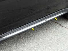"""EQUINOX 2010-2015 CHEVROLET (4 pieces: Body Molding or Rocker Panel Accent Trim kit: 1. 5"""" width, *Lower Kit: spans from the bottom of the door UP to the specified width. (on cladding/adh. perimeter) TH50160"""