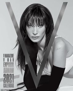 Bella Hadid and Irina Shayk feature in V Magazine's 2021 calendar | Daily Mail Online