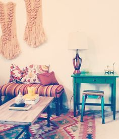 Another take on modern Maghreb influence. + southwest LOVE THIS RUG!
