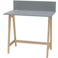 Luka Writing Desk 110cm Ragaba • WOO .Design Wooden Drawers, Study Space, Cable Management, Writing Desk, Foot Rest, Home Office, Furniture, Design, Home Decor