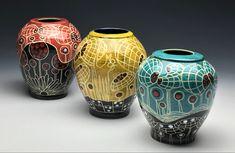Sgrafitto cone 5/12 Ceramic Art, Vase, Ceramics, Home Decor, Ceramica, Pottery, Decoration Home, Room Decor, Vases
