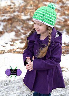 Mod mismatch hat #crochet #pattern by Blackstone Designs