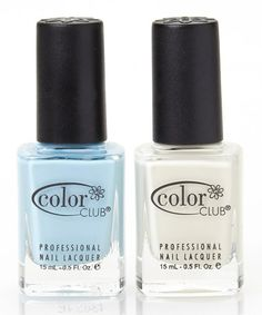 Look what I found on #zulily! Take Me to Your Chateau & Look, Don't Tusk Nail Polish Set #zulilyfinds