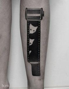 As Tatuagens Surreais Deste Artista Bielorruso Vão Te Deixar Com Vontade De…