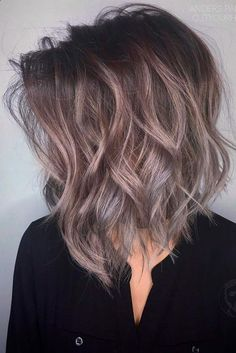 Hair Color - Hairstyles for medium length hair look especially flattering when they are wavy, and a beach wavy hairstyle is one of the trendiest options this season. We have a collection of chic beach wavy hairstyles and some styling tricks.