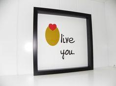 Olive you print!