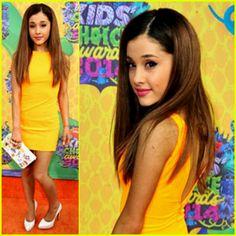Ariana Grande 2014 Kids Choice Awards