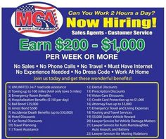 CONTACT ME NOW IF YOU WANT TO MAKE A CHANGE IN YOUR LIFE BY JOINING MCA