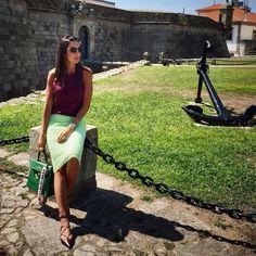 Oh-so HAPPY! 💚💜 #greenery Tão, mas tãoooo feliz que pude passar o dia dos pais juntinho do meu. Domingo 🔝 😊Um feliz dia dos pais para todos os papais que me seguem em especial o meu ❤️😍 #lookdodia . . . . . . . #dujour #whatiwore #mylook #mystyle #ootd #fashionpost #bloggerstyle #wiw #style #fashion #blogger #stylish #hermes #glamour #fashionista #fashionblogger #fashiongram #lookoftheday #fashionblog #oporto #portugal #look #fashiondaily #fashiongram #stylegram #liketkit #bloggerlife