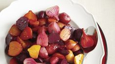 Demistify how to properly cook beets with this quick and easy Honey-glazed beets recipe. Vegan Gluten Free, Vegan Vegetarian, Pickled Beets Recipe, Beet Recipes, Honey Glaze, Coriander Seeds, Vegetable Recipes, Fruit Salad, Preserves