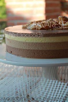 .: Bavarese ai tre Cioccolati di Luca Montersino