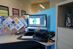 Our designer's desk!