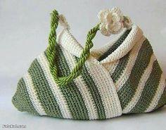 Hobo bag-Crochet shoulder bag