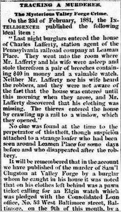 Genealogical Gems: On This Day: Lancaster Daily Intelligencer tracks ...