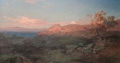 Carl Rottmann: Aigina. 1814, Öl auf Leinwand,  162 x 206 cm, Neue Pinakothek München