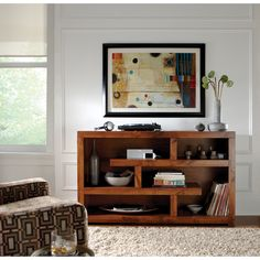 Art Van Alder II 60-inch Console - Overstock Shopping - Great Deals on Art Van Furniture Entertainment Centers