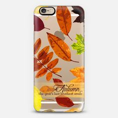 Autumn...the year's last loveliest smile - Classic Snap Case