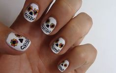 We're not exactly beginners, but these nail designs practically require a license.