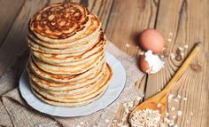 Weight loss: this delicious high-protein breakfast can give your grumpy mornings an ideal kick-start High Protein Breakfast, Healthy Breakfast Recipes, Healthy Recipes, Healthy Meals, Dinner Recipes For Kids, Kids Meals, Oatmeal Pancakes, Protein Pancakes, Quiche Recipes
