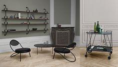 Mathieu Mategot trolley by Gubi News Design, Duke, Office Desk, Jazz, Presents, Chair, Table, Inspiration, Furniture