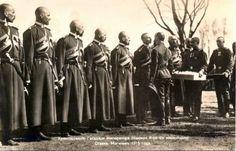 Nicholas II visiting Cossack troops at Easter, 1915.