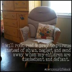 #sallyclarkson #ownyourlifebook Sally Clarkson, Armchair, Mom, Children, Heart, Inspiration, Life, Furniture, Home Decor