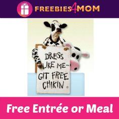 Would a #FREE meal entice you to dress like a Chick-fil-A Cow? Friday, July 11 #Freebie http://freebies4mom.com/chickfila