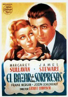 """El bazar de las sorpresas (1940) """"The Shop Around the Corner"""" de Ernst Lubitsch - tt0033045"""
