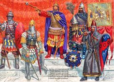 byzantine guards-alexios v-1204 ad