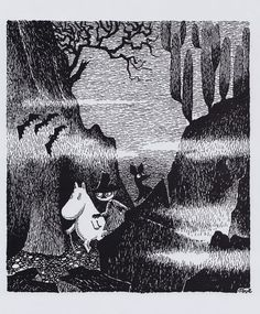 Moomin Poster 24 x 30 cm Moomintroll, Snufkin and Sniff   eBay
