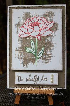 Stampin' Up!, Karte, Stempel