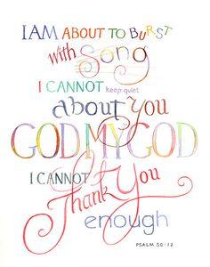 Psalm 30:12