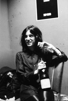 PATTI SMITH (2)  NYC, ca. 1973.