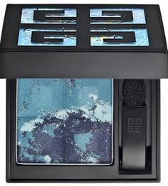 givenchy le prisme eyeshadow. designed to look like the oceans of mauritius.