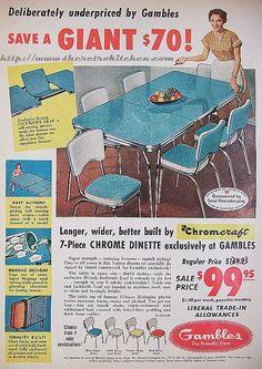Retro Chromcraft Kitchen Table