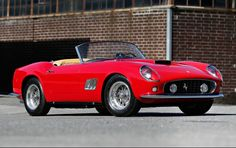 1961 Ferrari 250 GT SWB California Spider - Pebble Beach 2014 Gooding & Co. Sold for $15,180,000.
