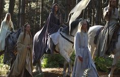 Arwen on Asfaloth - The Return of the King. <3