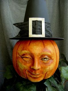 By William Bezek want to find a pilgrim hat to fit my man in the moon pumpkin for Thanksgiving
