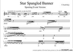 Star Spangled Banner, For Sporting Events