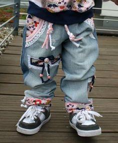 Die Hose ist lässig und locker - Nähanleitung via Makerist.de