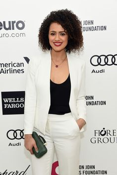 Nathalie Emmanuel Photos Photos - Actress Nathalie Emmanuel attends the 23rd Annual Elton John AIDS Foundation Academy Awards Viewing Party on February 22, 2015 in Los Angeles, California. - Arrivals at the Elton John AIDS Foundation Oscars Viewing Party — Part 3