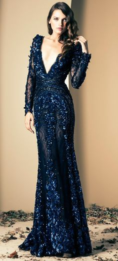 Ziad Nakad /Winter 2014|For more glamour girl, click here: https://www.pinterest.com/thevioletvixen/glamour-girl/