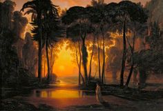 Le Prince Lointain: Francis Danby The Enchanted Castle, Sunset - 1841 Enchanted Castle, Enchanted Island, Bristol, Irish Painters, Prince, Great Works Of Art, Glasgow School Of Art, Oil Painting Reproductions, Art Uk