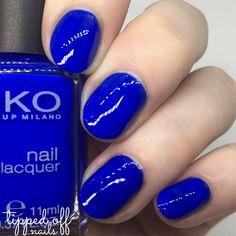 Kiko Milano: Part Three – Teals & Blues Nail Manicure, Manicures, Nail Polish, Kiko Milano, Blue Nails, Electric Blue, Blog Tips, Teal Blue, Yuri