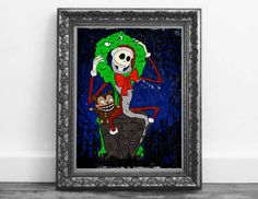Check out this item in my Etsy shop https://www.etsy.com/ca/listing/489553459/christmas-jack-skellington-from-the