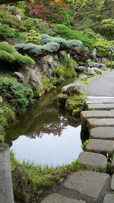 The San Francisco Japanese Tea Garden's 5 acres contain sculptures and…