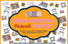 If you love John Robshaw this is a great contest...I know I do! #DreamRobshaw