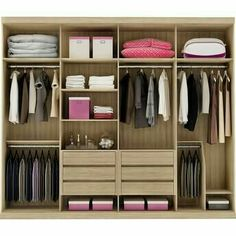 fine closet design, will be credited with to the beautiful interior of your home. Wardrobe Design Bedroom, Master Bedroom Closet, Bedroom Wardrobe, Wardrobe Closet, Built In Wardrobe, Closet Space, Master Suite, Capsule Wardrobe, Bedroom Cupboard Designs